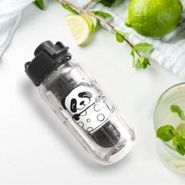 Бутылочка для воды с контейнером для фруктов Панда