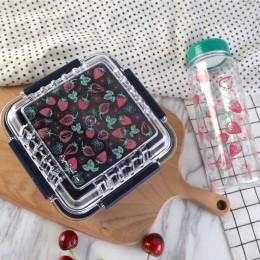 Набор бутылочка для воды и ланчбокс Summer клубника