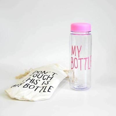 Розовая бутылка «My Bottle» с чехлом. Больше фото в интернет-магазине подарков podario.com