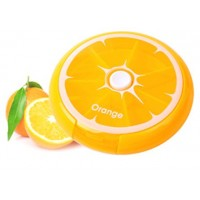 Таблетница Citrus Pill Box Апельсин