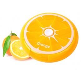 """Таблетница """"Citrus Pill Box"""" Апельсин. Больше фото фото в интернет-магазине подарков podario.com"""