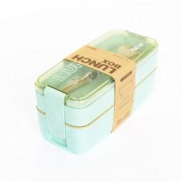 """Эко ланч-бокс """"Lunch Box 750 ml"""", бирюзовый. Больше фото фото в интернет-магазине подарков podario.com"""