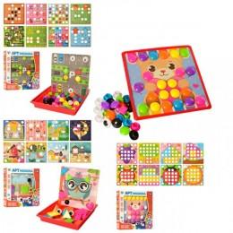 Детская мозаика Limo Toy SK 0017 ABC 16 картинок, крупная
