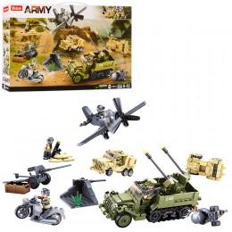 Конструктор Sluban M38-B0812 Военный транспорт, 552 деталей