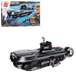 Большой конструктор Qman 1730 Подводная лодка, 1196 деталей