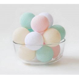 """Тайская гирлянда """"Baby Pastel"""". Больше фото в интернет-магазине подарков podario.com"""