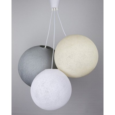 Люстра White-Grey-Cream