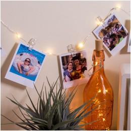 Гирлянда прищепки, светодиодная 10 лампочек. Больше фото фото в интернет-магазине подарков podario.com