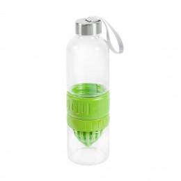 Стеклянная бутылка для воды с соковыжималкой Lime cup