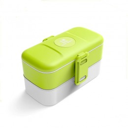 """Ланч бокс """"Look Back"""" зелёный, 1200 мл. Больше фото фото в интернет-магазине подарков podario.com"""