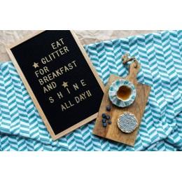 Доска для посланий Black 30*45см. Больше фото фото в интернет-магазине подарков podario.com