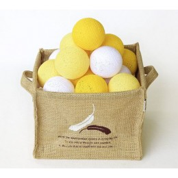 Гирлянда тайские фонарики CBL Lemon 20 шт, 3.7 м