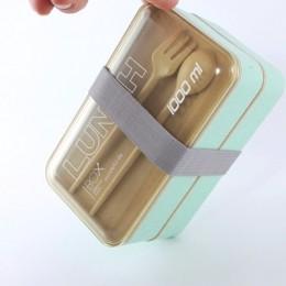 Ланч-бокс из пшеничного волокна Lunch Box 1000 ml, бирюзовый