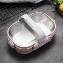 """Термо ланч бокс """"Crystal"""" розовый, металлическая основа, 650 мл. Больше фото фото в интернет-магазине подарков podario.com"""