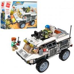 Детский конструктор Qman 3204 Thunder Mission военная машина, 300 деталей