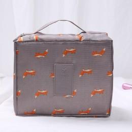 """Косметичка-органайзер Travel, """"Лисички"""". Больше фото фото в интернет-магазине подарков podario.com"""