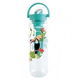 """Бутылочка для воды с контейнером для фруктов """"Summer"""" Blue. Больше фото фото в интернет-магазине подарков podario.com"""