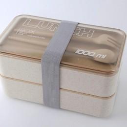 """Ланч-бокс из пшеничного волокна """"Lunch Box 1000 ml"""", бежевый"""