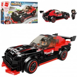 Детский конструктор Qman 4201-6 Гоночная Машина Mine City, 185 деталей