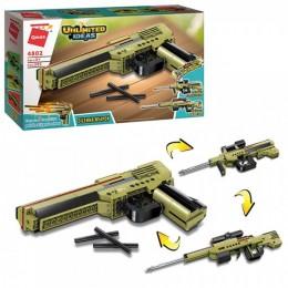 Конструктор Qman 4802 Пистолет, 202 детали