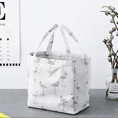 """Термосумка, ланч бэг """"Flamingo"""", белая. Больше фото фото в интернет-магазине подарков podario.com"""