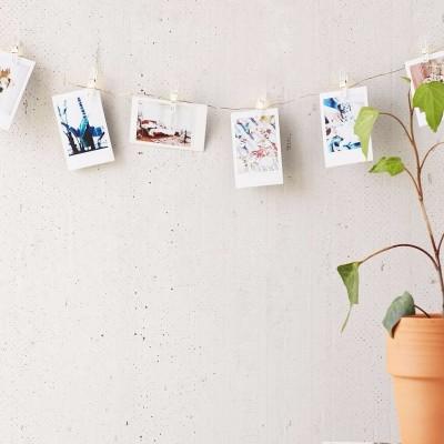 Диодная гирлянда прищепки, 20 лампочек. Больше фото фото в интернет-магазине подарков podario.com