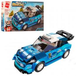 Детский конструктор Qman 4201-3 Гоночная Машина Mine City, 168 деталей