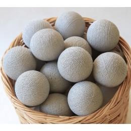 Гирлянда тайские фонарики CBL Stone 20 шариков, 3.7 м