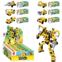 Конструктор Qman 1417 6в1 строительная техника - робот