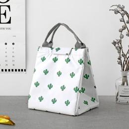 Сумка для ланча (lunch bag), Кактус