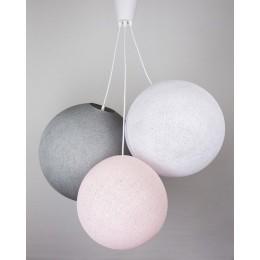 Люстра Grey-Pink