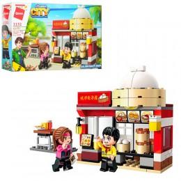Конструктор Qman 1132 Азиатское кафе, 122 детали