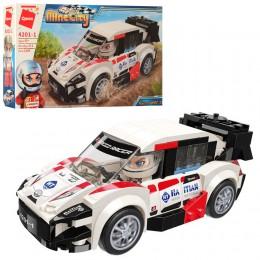 Детский конструктор Qman 4201-1 Гоночная Машина Mine City, 189 деталей