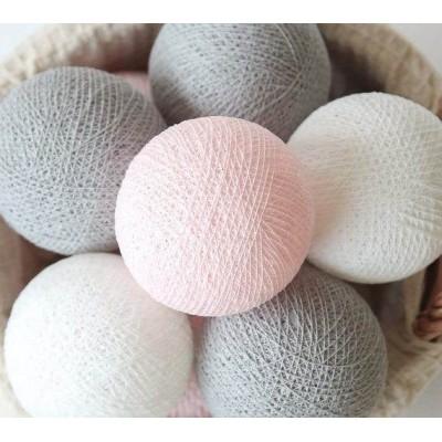 """Гирлянда """"Pink&Grey"""" 20 шт.. Больше фото в интернет-магазине подарков podario.com"""