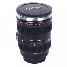 """Термокружка-объектив """"Canon EF 24-105mm"""". Больше фото в интернет-магазине подарков podario.com"""