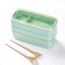 """Эко ланч-бокс """"Lunch Box 900 ml"""", бирюзовый. Больше фото фото в интернет-магазине подарков podario.com"""