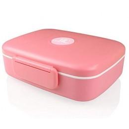 """Ланч бокс """"Look Back"""" розовый на 5 отделений, 1,3 л. Больше фото фото в интернет-магазине подарков podario.com"""