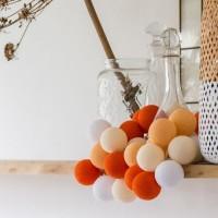 Гирлянда шарики-фонарики CBL ORANGE 20 шт, 3.7 м