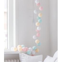 """Гирлянда тайские фонарики """"Pastel"""". Больше фото в интернет-магазине подарков podario.com"""