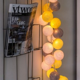"""Гирлянда тайские фонарики """"YELLOW STONE"""". Больше фото в интернет-магазине подарков podario.com"""