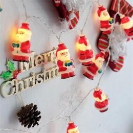 """Гирлянда """"Санта Клаус"""" 3.2м, 20 шт"""