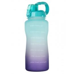 Большая мотивирующая бутылка для воды 3800 мл Галлон, для спорта