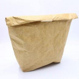 Ланч бэг - термосумка, сумка для ланчей eco Kraft (крафт бумага)
