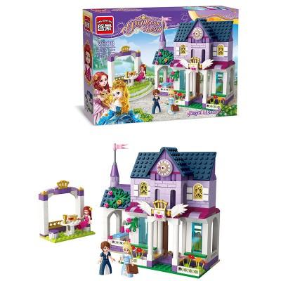 Конструктор для девочки Brick 2608 Замок принцессы, 422 детали
