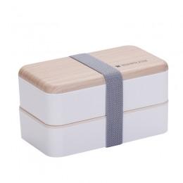"""Ланч-бокс из пшеничного волокна """"Lunch Box 1000 ml"""", бежевый. Больше фото фото в интернет-магазине подарков podario.com"""