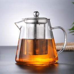 Заварочный стеклянный чайник с фильтром, 750 мл