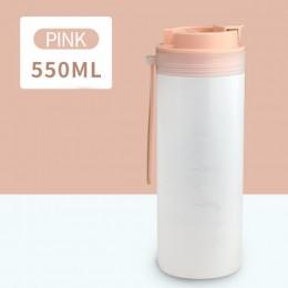 Бутылка для напитков воды 550 мл Japanese - розовая