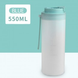 Бутылка для напитков Japanese 550 мл - голубая