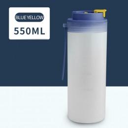 Бутылка для воды Japanese 550 мл - синяя