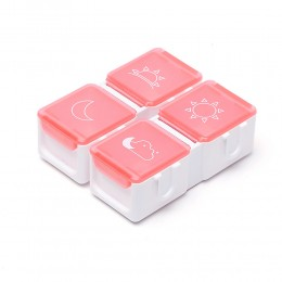 Таблетница Tetris на день, красная
